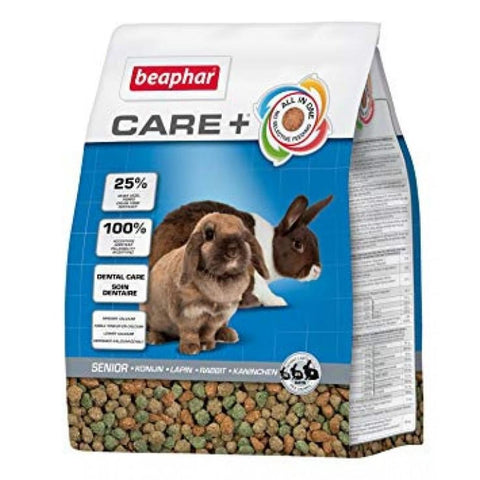 Beaphar Care+ Senior Rabbit Food - 1.5KG - Food & Hay