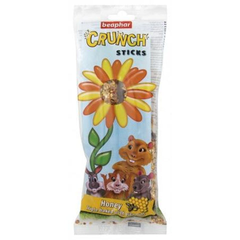Beaphar Crunch Stick - Honey - Treats & Chews