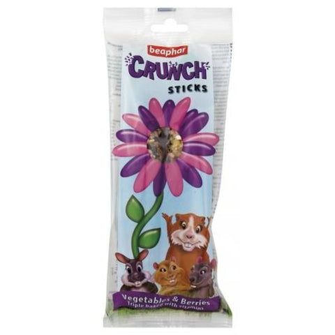 Beaphar Crunch Stick - Vegetable & Berries - Treats & Chews