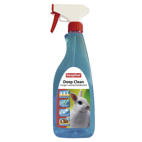Beaphar Deep Clean For Rodent Houses - 500ml - Cages &