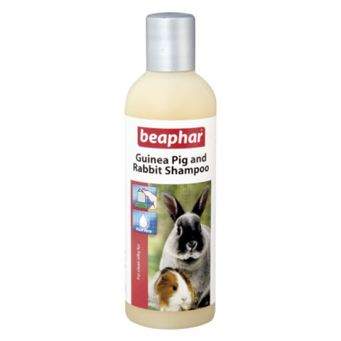 Beaphar Guinea Pig & Rabbit Shampoo - 250ml - Small Pet