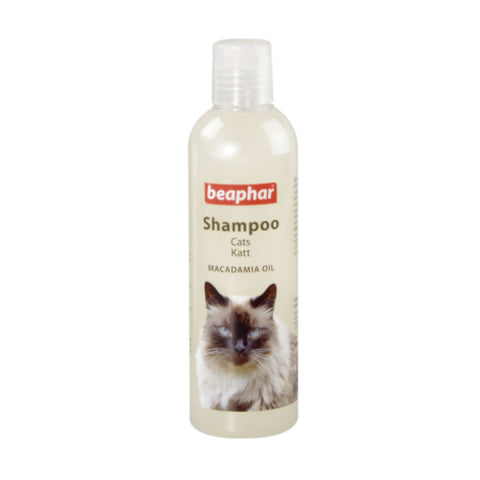 Beaphar Macadamia Oil Shampoo for Cats - Cat Health &