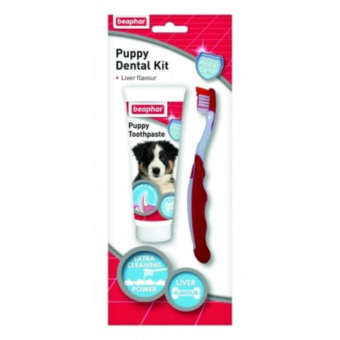Beaphar Puppy Dental Kit - Healthcare & Grooming