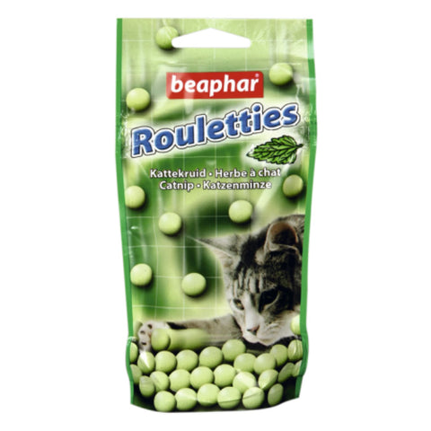 Beaphar Rouletties Catnip Cat Treats - 44g - Cat Treats