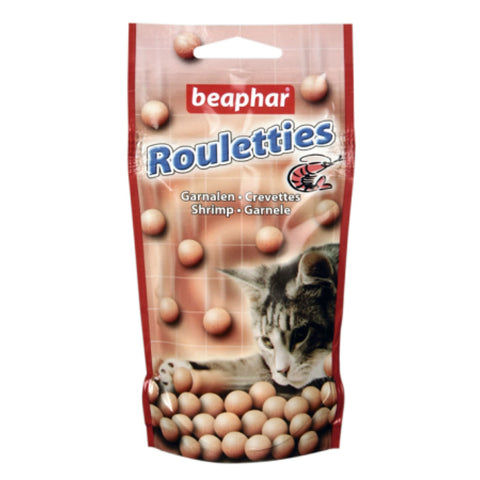 Beaphar Rouletties Shrimp Cat Treats - 44g - Cat Treats