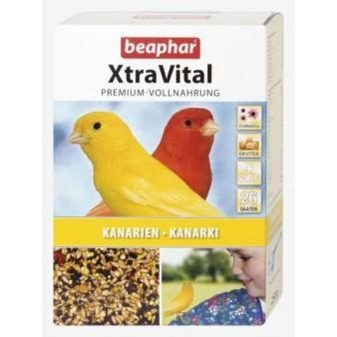 Beaphar XtraVital Canary Feed - 500g - Bird Food
