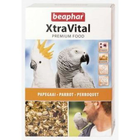 Beaphar XtraVital Parrot Feed - 1kg - Bird Food
