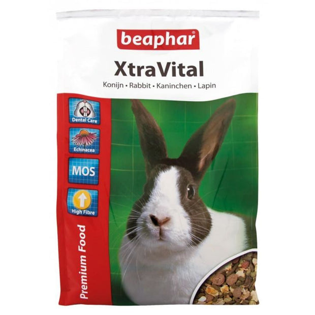 Beaphar XtraVital Rabbit Feed - 1kg - Food & Hay