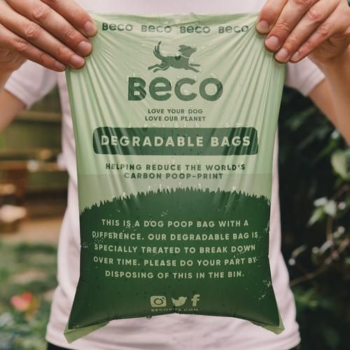 Enviro-friendly Degradable Poop Bags - Unscented