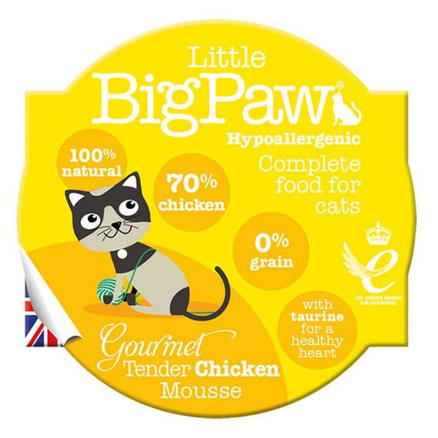 Little Big Paw Gourmet Chicken Mousse 85g - Cat Food