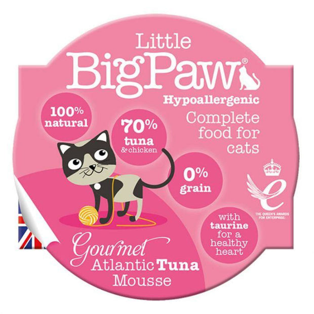 Little Big Paw Gourmet Tuna Mousse 85g - Cat Food