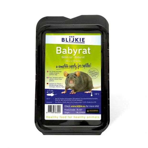 Blijkie Frozen Baby Rat - Food & Health
