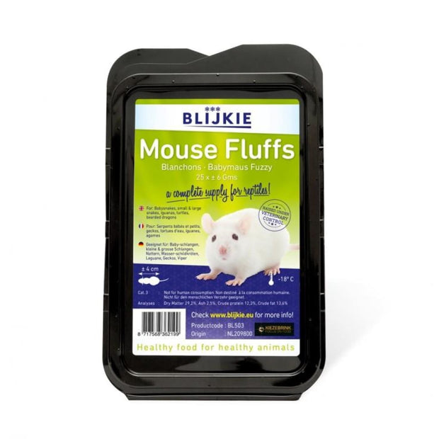 Blijkie Frozen Mouse Fluffs - Food & Health