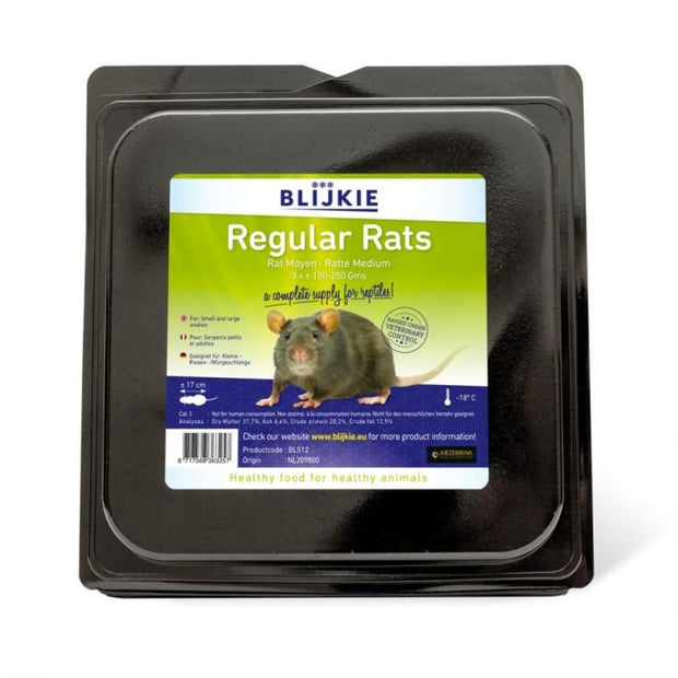 Blijkie Frozen Regular Rats - Food & Health