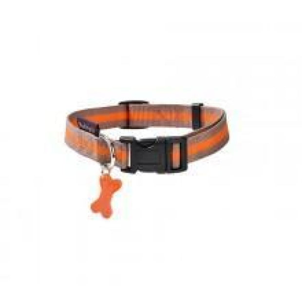 Bobby Arlequin Collar - Orange - X-Small - Collars & Fashion