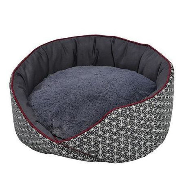Bobby Asanoha Cat Nest - Grey - Beds & Cat Carriers