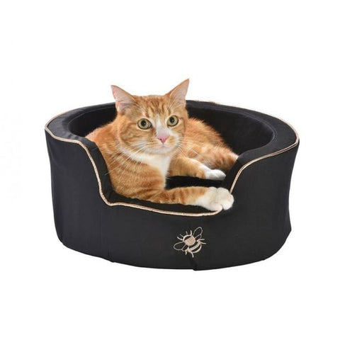Bobby Bee Nest Cat Bed - Black - Beds & Cat Carriers