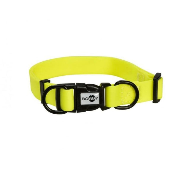 Bobby PVC Pop Collar - Yellow - Collars & Fashion