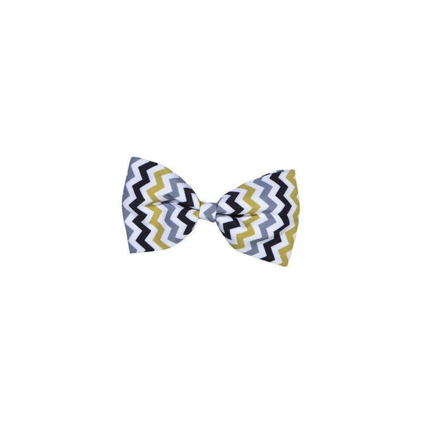 Bobby Zigzag Bow Tie - Collars & Fashion
