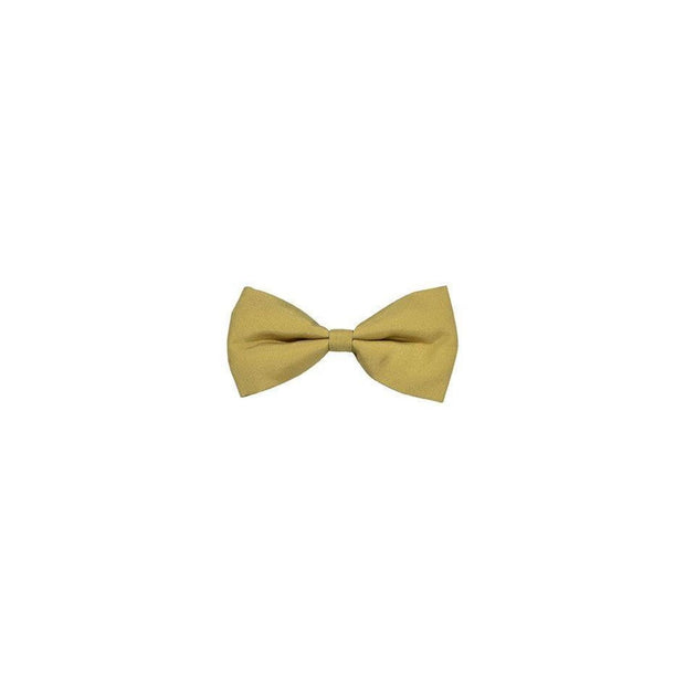 Bobby Zigzag Bow Tie Mustard - Collars & Fashion