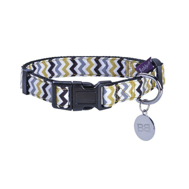 Bobby Zigzag Dog Collar - X-Small - Collars & Fashion
