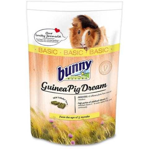 Bunny Nature Guinea Pig Dream Basic (1.5kg) - Food & Hay