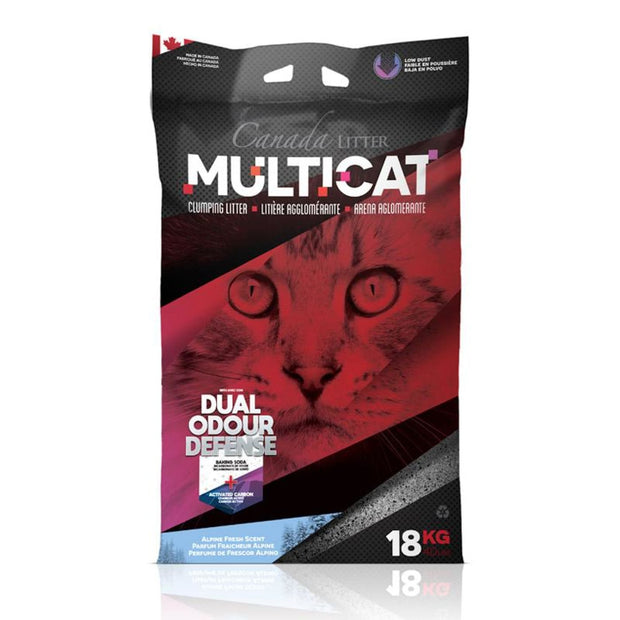 Canada Litter MultiCat - Alpine Fresh (18kg) - Litter &