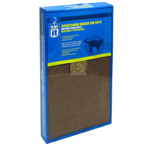 Catit Cat Scratching Board Wide - Wide - Scratchers & Poles