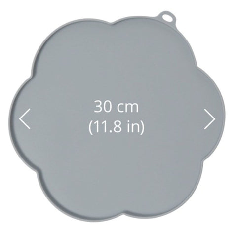 Catit Flower Placemat - Grey - Cat Feeders & Bowls