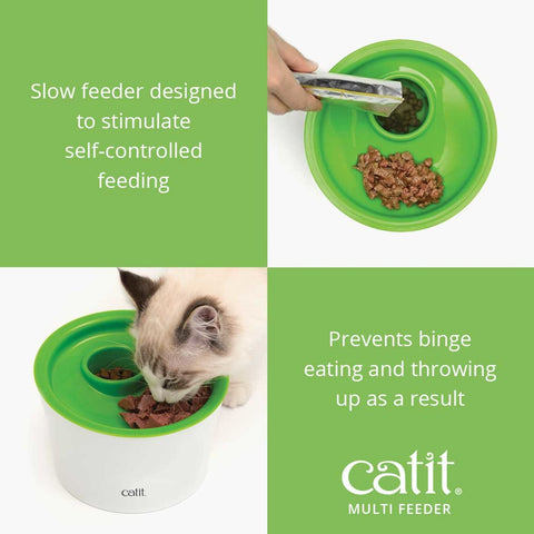 Catit Senses 2.0 Multi Feeder - Cat Feeders & Bowls