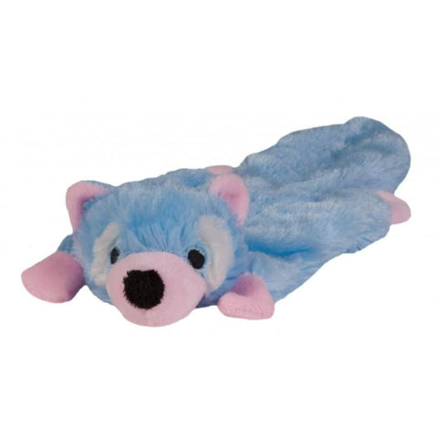 Chomper Puppy Flatty - Raccoon - Dog Toys
