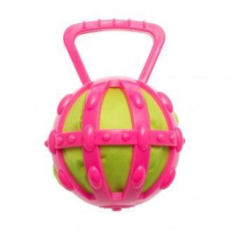 Chomper TPR Cage with Ballistic Ball - Dog Toys