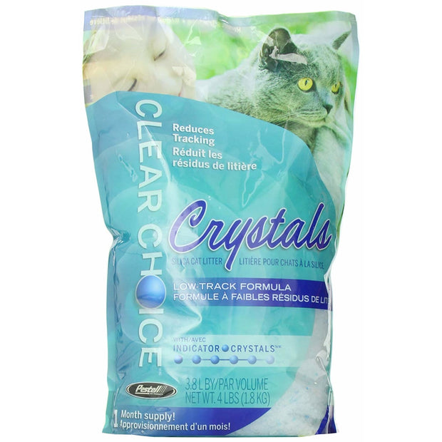 Clear Choice Silica Crystal Cat Litter - 1.8kg - Litter &