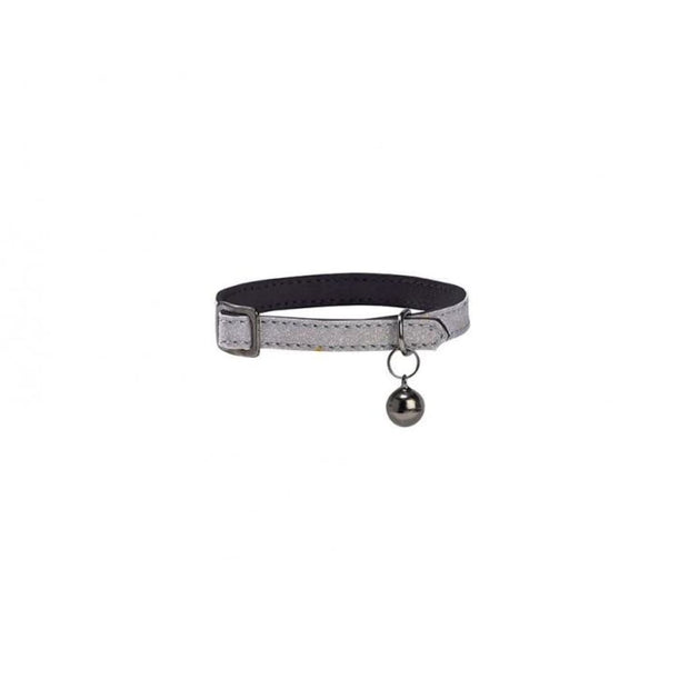 Cosmos Cat Collar - Silver - Cat Collars & Tags