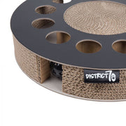 District 70 Whirl Cardboard Cat Scratch Toy