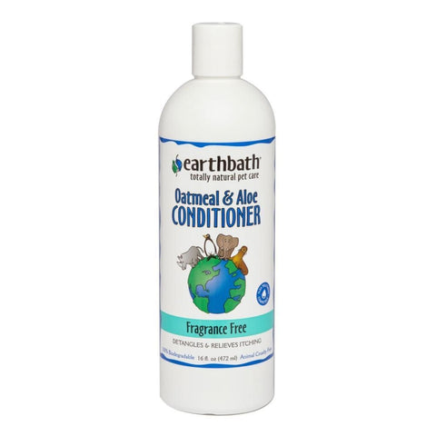 earthbath Aloe & Oatmeal Fragrance-Free Conditioner - Cat