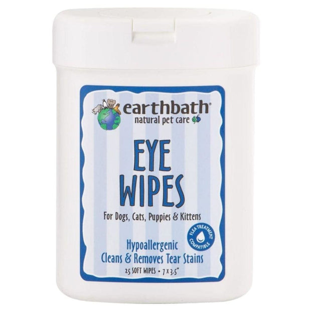 earthbath Eye Wipes - Cat Health & Grooming