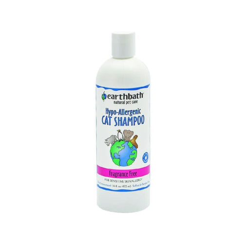 earthbath Hypo-Allergenic Fragrance-Free Cat Shampoo - Cat