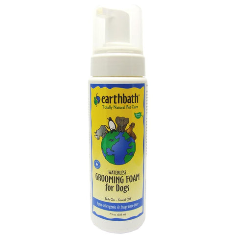 earthbath Hypo-Allergenic Grooming Foam for Dogs -