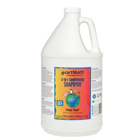 earthbath Mango Tango 2-in-1 Conditioning Shampoo Gallon -