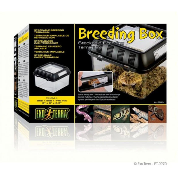 Exo Terra Breeding Box - Small - Reptile Homes