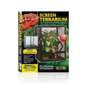 Exo Terra Screen Terrarium - Small/Tall - Reptile Homes