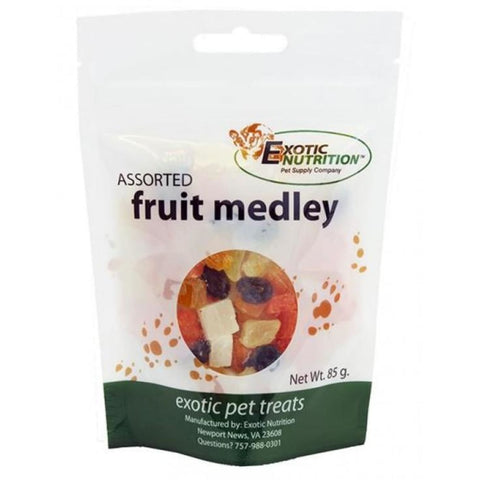 Exotic Nutrition Assorted Fruit Medley - Treats & Toys
