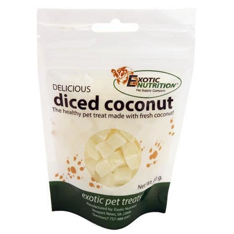 Exotic Nutrition Delicious Diced Coconut - Treats & Toys