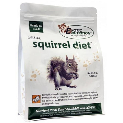 Exotic Nutrition Deluxe Squirrel Diet - Small Pet Food