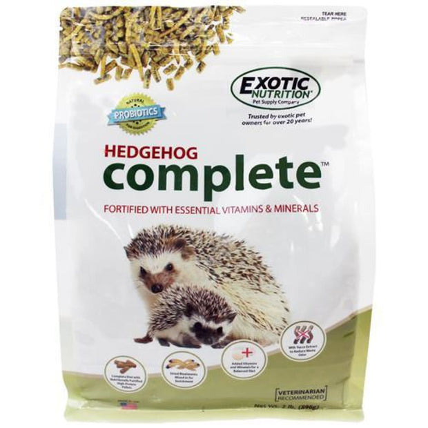 Exotic Nutrition Hedgehog Complete - 5LB (2.27kg) - Small