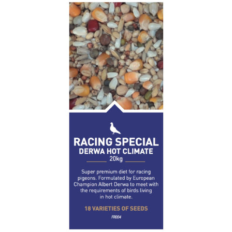 Farma Racing Special Derwa (Hot Climate) - Bird Food