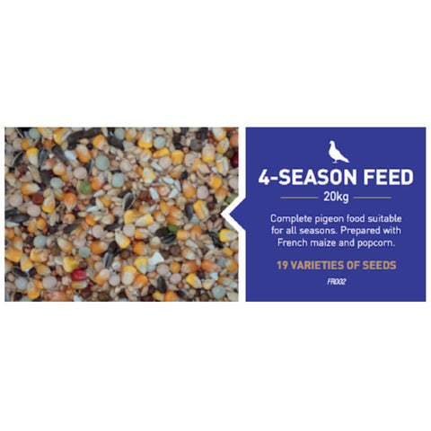 Farma 4-Season Pigeon Diet - Bird Food