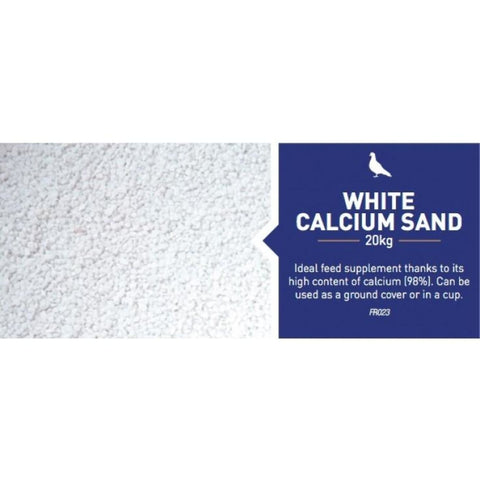 Farma White Calcium Sand - Bird Health & Hygeine