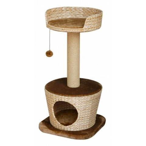 Fauna Madena Cat Pole with Basket - Cat Toys